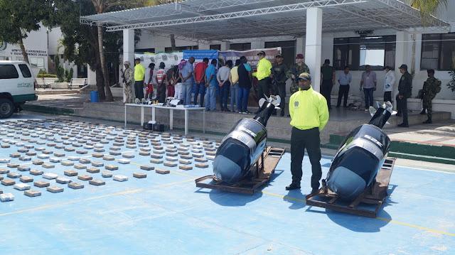 Golpe a 'Los Pachencas' en La Guajira: 480 kilos de coca, cinco kilos de marihuana y 10 capturados