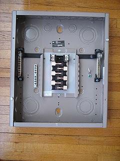 30 Amp Split Breaker Wiring Diagram Electric Work Adding Sub Panel Installing Amp Wiring The