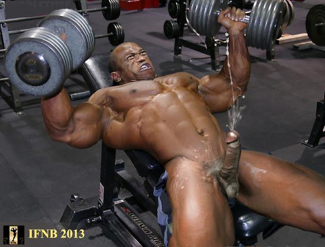 Gym Cum 58
