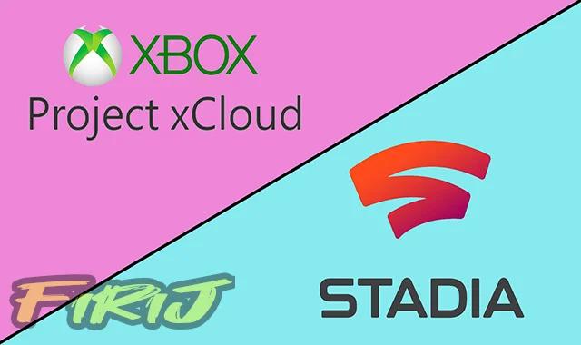 Comparaison entre Google Stadia contre Microsoft xCloud