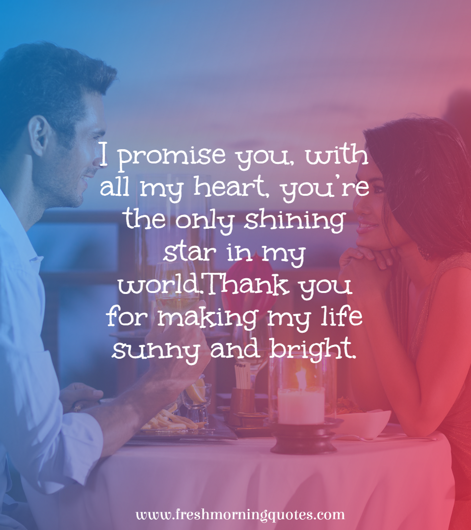 i promise you with all my heart
