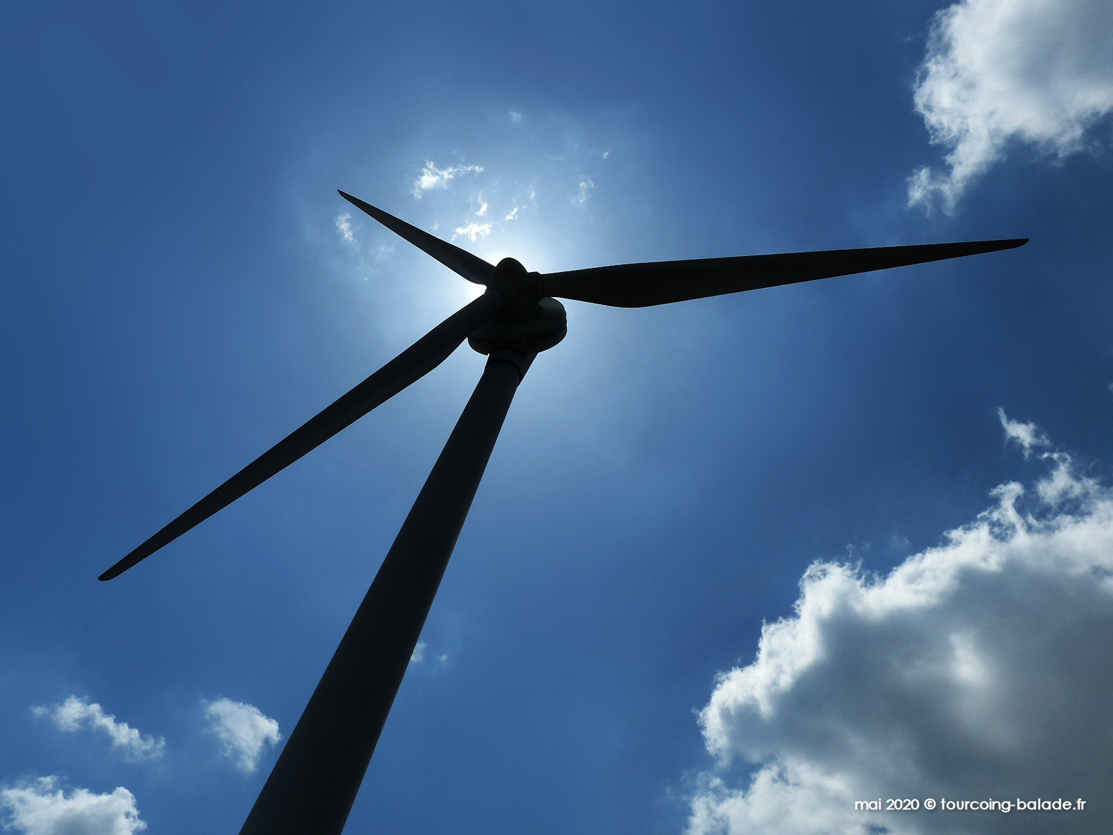 Éolienne Bondues, 2020.