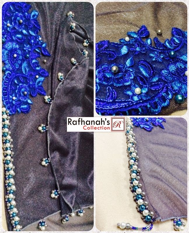 Plain Shawl Raya Rafhanah's Collection