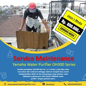 Service filter air Yamaha OH300 Termurah