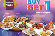 Promo Ta Wan Terbaru Buy 1 Get 1 Free Menu Midnight Sale