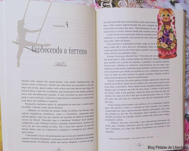 livro, A-Fênix-de-Fabergé, Sue-Hecker, Casandra-Gia, Harlequin, russia, circo
