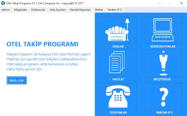 C# Otel Rezervasyon Otomasyonu Programı Ücretsiz İndir [Yeni Sürüm Yayınlandı]
