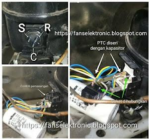 mengatasi kulkas tidak dingin kmompresor panas
