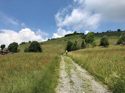 Roccolo del Moret on the hill.