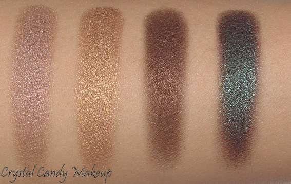 Quad Bare My Soul de MAC (Collection Temperature Rising) - Review - Swatch