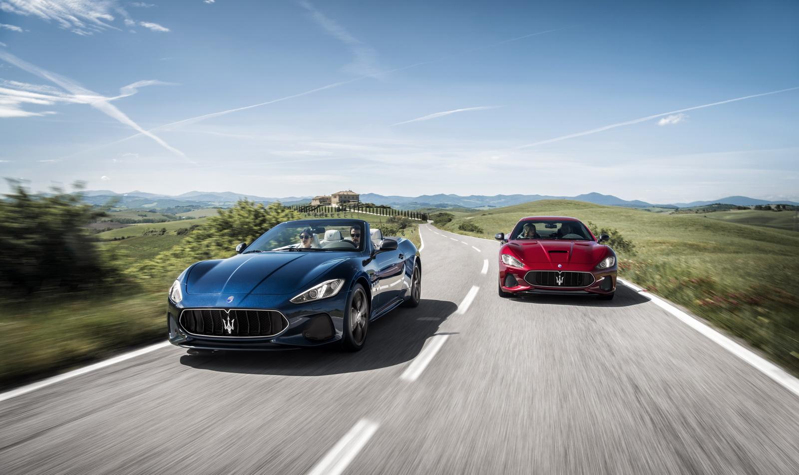 VWVortex.com   The Maserati GranTurismo Gets... Lightly Refreshed For 2018
