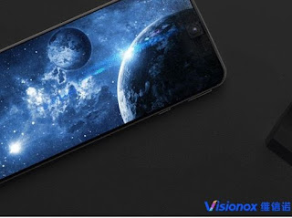 Visionox تبدأ التصنيع الموسع لأول حلول تضمين الكاميرا الأمامية تحت الشاشة