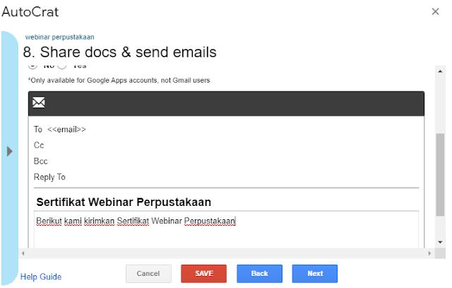 Cara Mengirimkan file sertifikat Otomatis Menggunakan Google Form