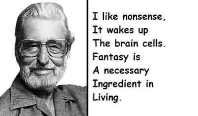 """Dr. Seuss Quotes About Fantasy"""