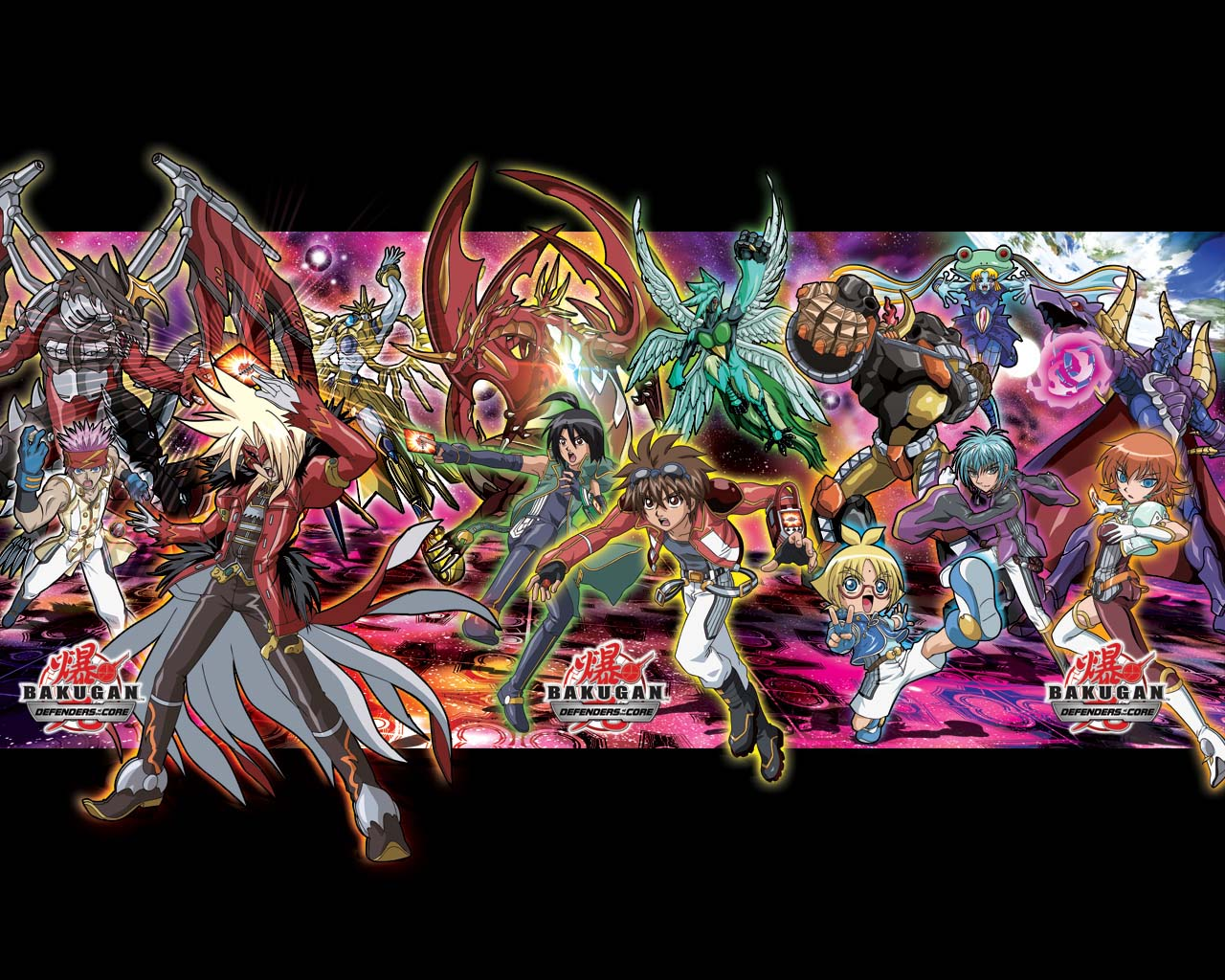 BAKUGAN DEFENDERS OF THE CORE VIDEOGAME WALLPAPERS