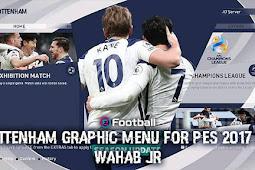 Tottenham Graphic Menu 2021 - PES 2017