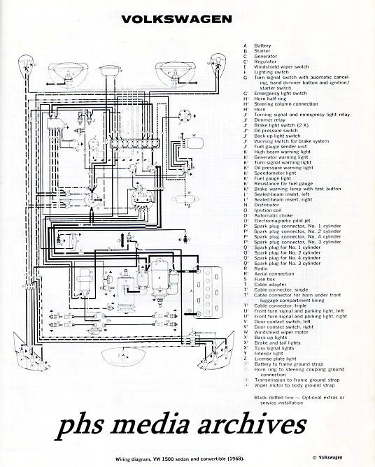 Tech Files Series 1965, 1968 Volkswagen Type 1  convertible