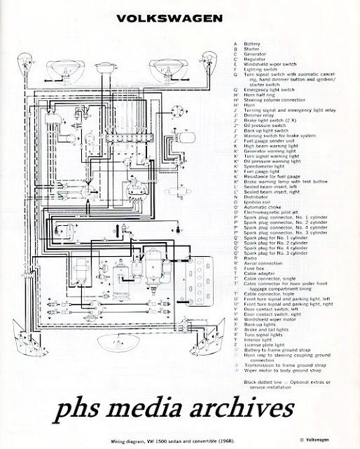 Tech Files Series: 1965, 1968 Volkswagen Type 1