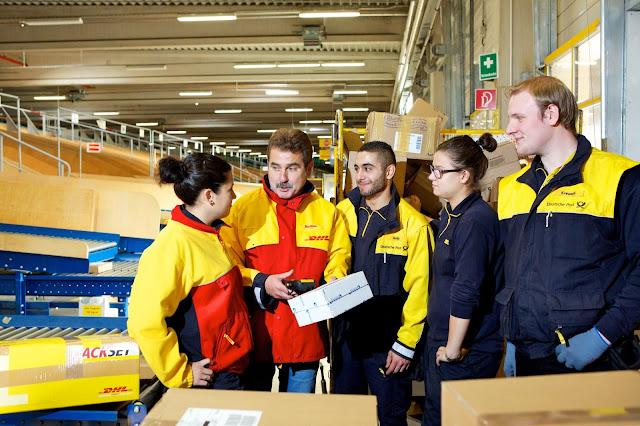 فرص عمل بدوام كامل لدى شركة DHL في المانيا