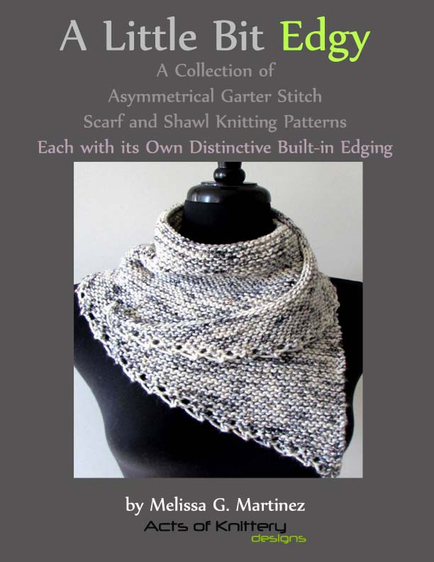 Introducing A Little Bit Edgy A Scarf Knitting Pattern Collection
