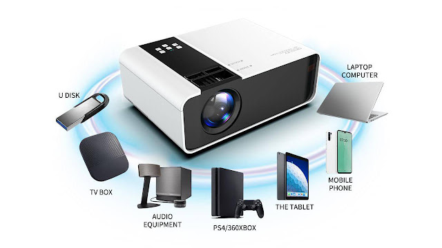 6000 lumens Android Mini Projector
