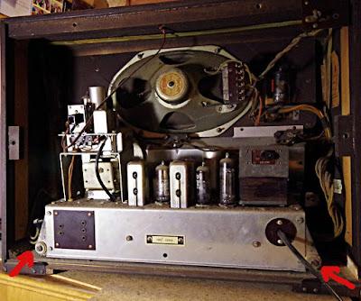 Bush vhf 54 chassis