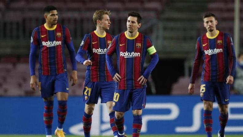 قرعة نارية تنتظر برشلونة في دوري الأبطال