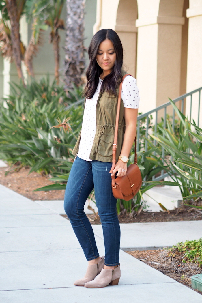 utility vest outfit