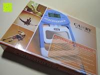 Box: Camry Digitaler Hand-Kraftmesser / Dynamometer, zum Trainieren der Hände, 90 kg / 200 lb