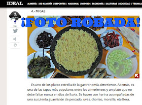 Ideal de Almería Roba Fotos a Blogs