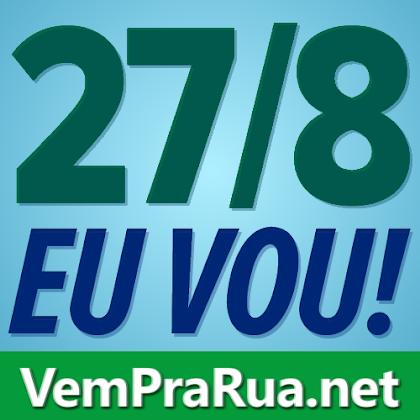 Fotos com data da manifestação pedindo cadeia para Lula do PT