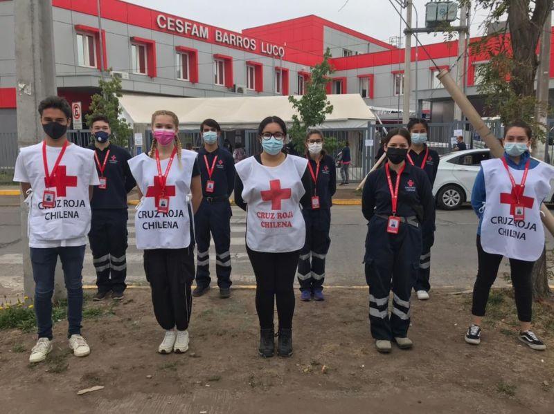 P&G Chile dona más de 7 mil pruebas PCR a voluntarios de Cruz Roja