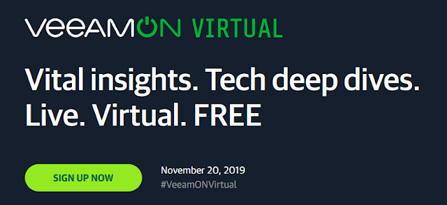 Veeam: VeeamON Tour Virtual 2019