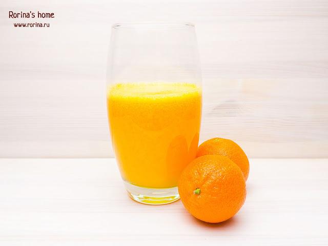 Мандариновый сок: рецепт в домашних условиях