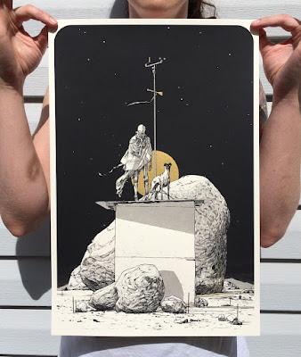 MondoCon 2016 Exclusive AQL Screen Print Series by Matthew Woodson