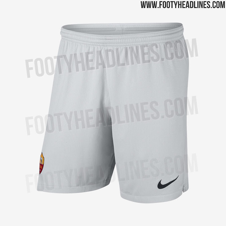 de79631b3 The sleeves of the Roma 2018-2019 away jersey have a white graphic