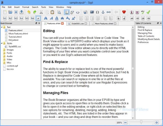 free ebook creator software for windows