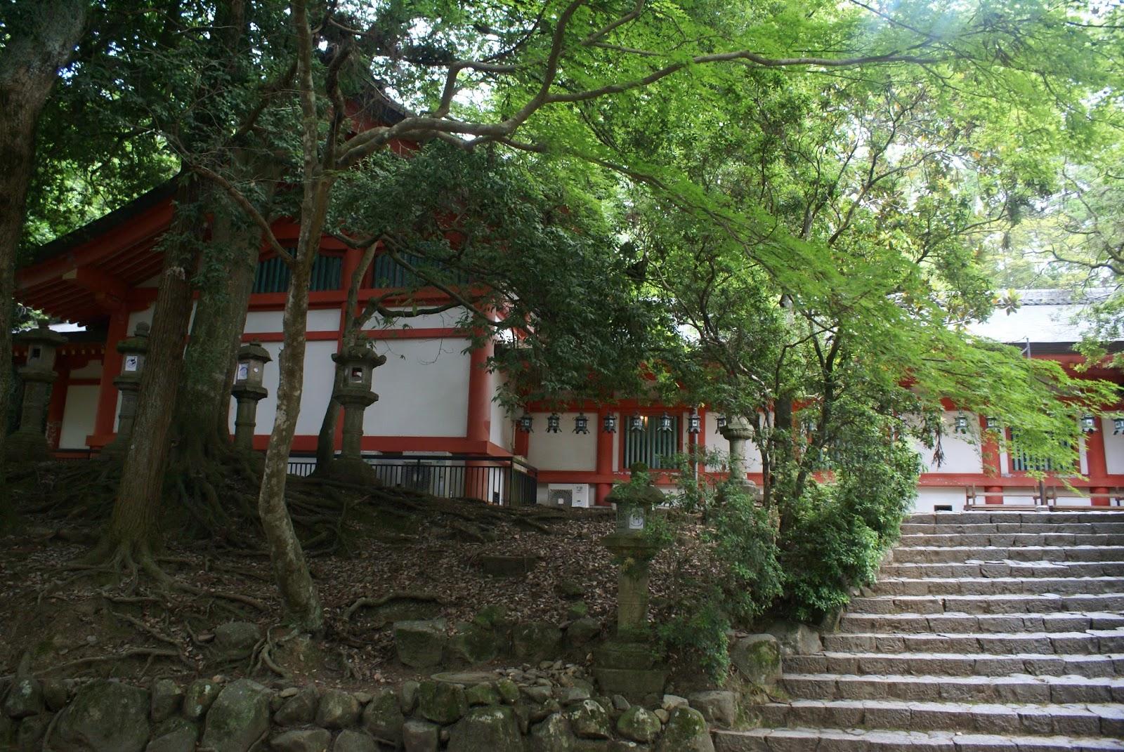 tamukeyama hachiman-gu nara koen japan kansai