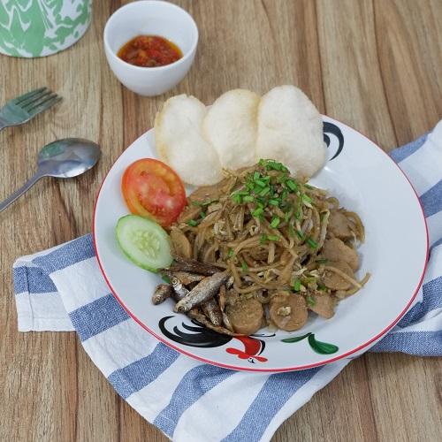 Cara memasak mie sagu Selatpanjang Riau