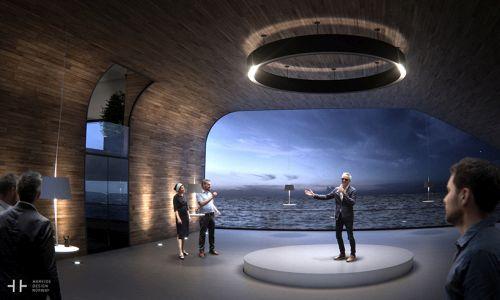 Mega yacht Hareide Design