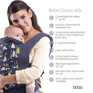 Boba 4Gs Classic Baby Carrier, Cheetah