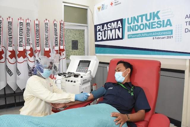 Petrokimia Gresik Fasilitasi 300 Penyintas Covid-19 Donorkan Plasma Konvalesen