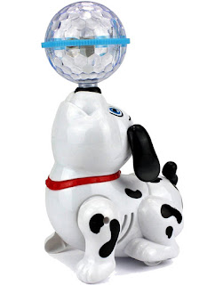 Toyshine Dancing Dog with Music Flashing Lights best gift for your baby kids.