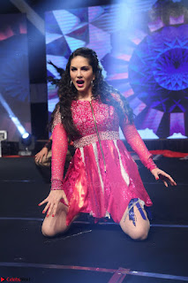 Sunny Leone Dancing on stage At Rogue Movie Audio Music Launch ~  220.JPG