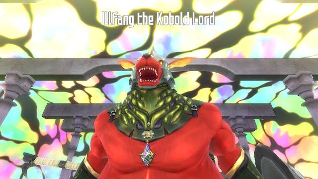 Boss Lantai 1 Illfang The Kobold Lord