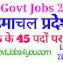 HP Govt Jobs 2020 हिमाचल प्रदेश में क्लर्क  के 45 पदों पर भर्ती