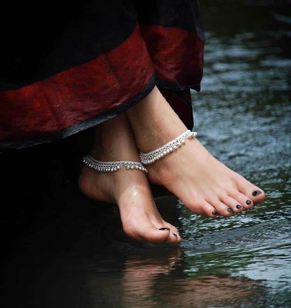 Silver Anklet Design