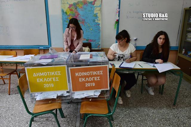 Όλα τα αποτελέσματα ανά εκλογικό τμήμα των Δημοτικών Εκλογών 2019 στην Αργολίδα