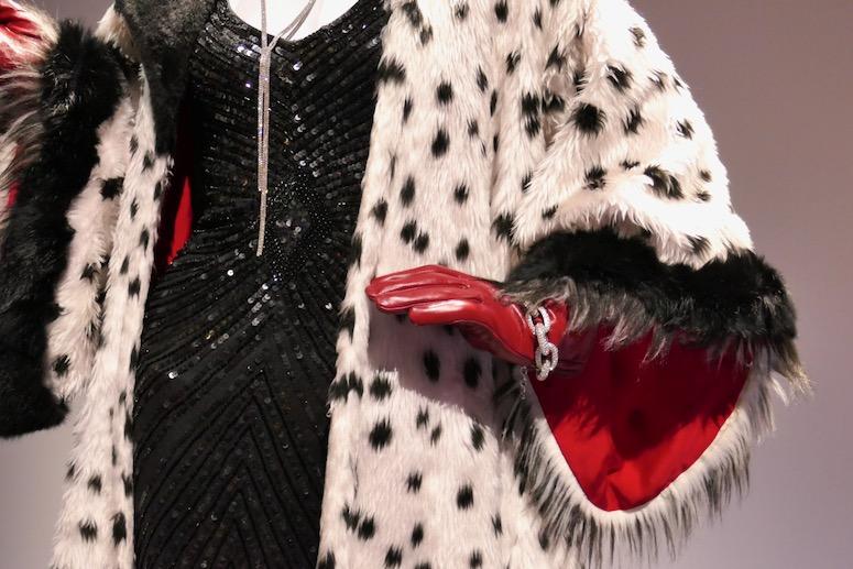 Cruella de Vil costume detail Once Upon a Time