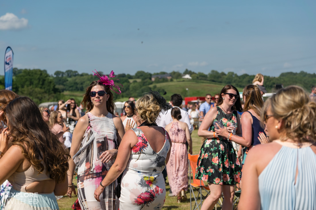 Crowd at the Polo